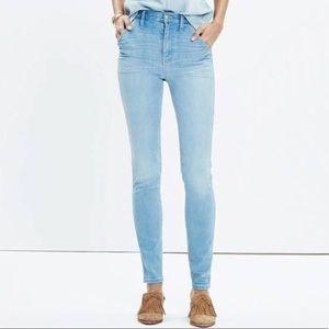 Madewell High Riser Skinny Jeans 26
